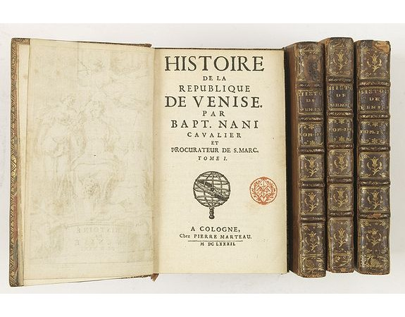 NANI, G. B. -  Histoire de la République de Venise.