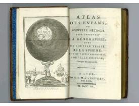 ANONYME. -  Atlas des Enfans ou nouvelle méthode pour apprendre la géographie…