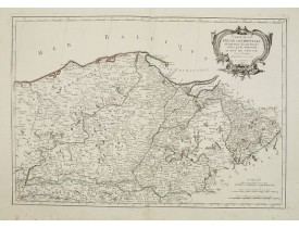 SANTINI, P. / REMONDINI, M. -  Carte de la Prusse Occidentale.. au Roi de Prusse.
