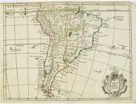LE ROUGE, G. L. -  L'Amerique méridionale.