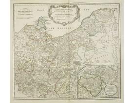 VAUGONDY, R. de -  Partie saptentrionale du cercle de Haute Saxe […] Brandebourg.