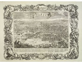 AVELINE, P. -  Paris. / Paris, Lutetia, Parisii, Ville Capitale du Royaume de France.