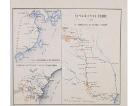 BUREAU, E. -  Expédition de Chine 1860 3e itinéraire de Pe-Tang à Pe-King.