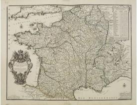 DE FER, N. -  La France dans toute son Etandiie dressée et dédiée a Monseigneur le Dauphin. . .