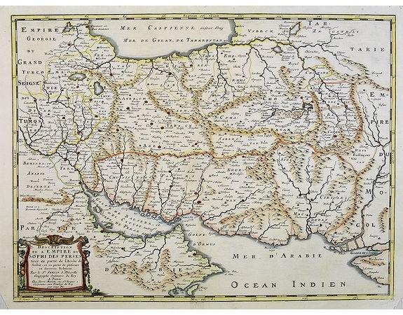 SANSON, N. / MARIETTE, P. -  Description de l'Empire du Sophi des Perses. . .