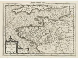 MERCATOR, G. / CLOPPENBURG, J. E. -  Bretania et Normandia. . .