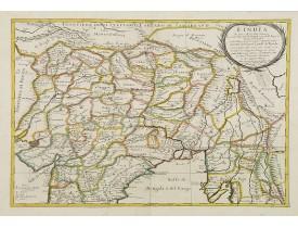 ROSSI, G.G. -  L'India di qua e di la dal Gange oue sono li Stati del G. Mogol e parte del Imperio del fu prete Iann..