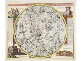 DOPPELMAYER, J. G. / HOMANN, J. B. -  Hemisphaerium Coeli Australe in quo Fixarum. . .