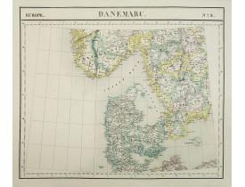 VANDERMAELEN, Ph. -  Europe. Danemarc. N°8.