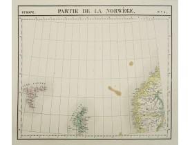 VANDERMAELEN, Ph. -  Europe. Partie de la Norwège. N°3.