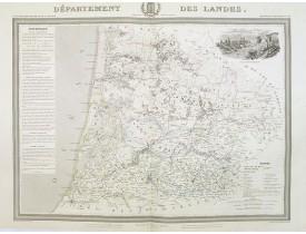 DONNET, A. / FREMIN, A. R. / LEVASSEUR. - Département des Landes.