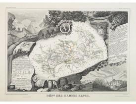 LEVASSEUR, V. -  Dépt. Des Hautes-Alpes. N°5  [ Gap ].