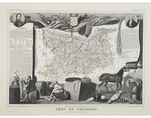 LEVASSEUR, V. -  Dépt. Du Calvados. N°13.