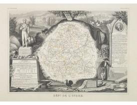 LEVASSEUR, V. -  Dépt. De L'Indre. N°35. [ Chateauxroux ].