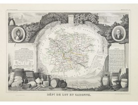 LEVASSEUR, V. -  Dépt. Du Lot et Garonne. N°46.