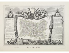 LEVASSEUR, V. -  Dépt. De L'Oise. N°59.  [ Beauvais ].