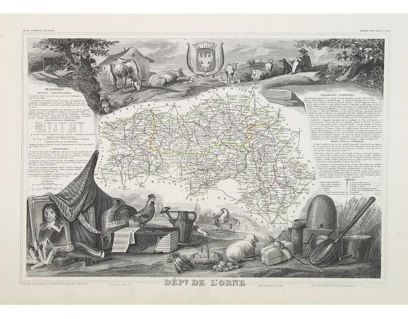 LEVASSEUR, V. -  Dépt. De L'Orne. N°60.