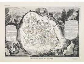 LEVASSEUR, V. -  Dépt. Du Puy De Dôme. N°62. [ Clermond Ferrand ].