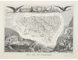 LEVASSEUR, V. -  Dépt. Des Bses. Pyrénées. N°63.  [ Bayonne, St.Jean de Luz ].
