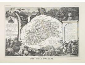 LEVASSEUR, V. -  Dépt. De La Hte. Saône. N°69.  [ Vesoul ]