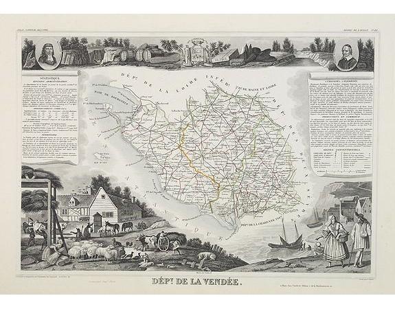 LEVASSEUR, V. -  Dépt. De La Vendée. N°82.  [ Les Sables d'Olonne ].
