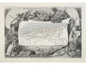 LEVASSEUR, V. -  Algérie, Colonie Française. N°87.