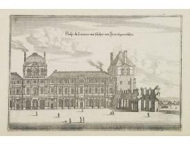 MERIAN, C. -  Prosp: du Louvre.wie solcher von Inwendig an zusehen.