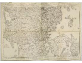 MANSA, J. H. -  Nörrejylland Pl. 6, 7, 8, 9.