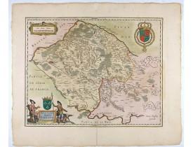 JANSSONIUS, J. -  Valesium Ducatus. - Valois.