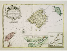 COVENS, J. / MORTIER, C. -  Carte des Isles de Maiorque Minorque et Yvice…