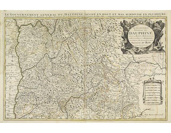 JAILLOT, H. / MORTIER, P. -  Le gouvernement général du Dauphiné.