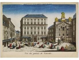 CHÉREAU, J. -  Vue du palais de Visendic.