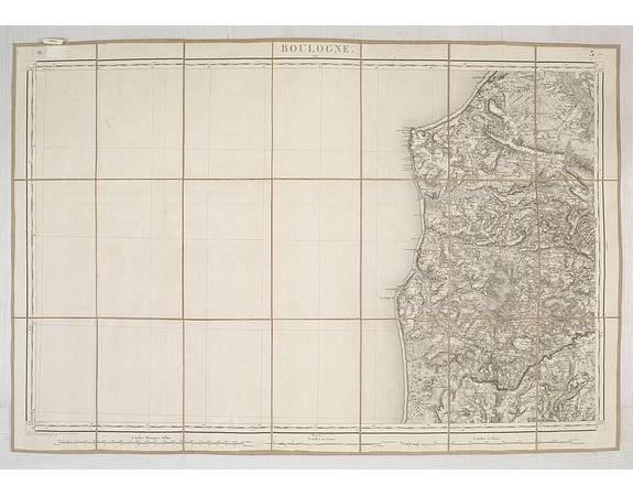 DÉPÔT GÉNÉRAL DE LA GUERRE. -  Boulogne S. Mer. (Calais).