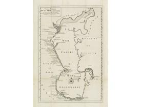 VERDEN, VAN K. -  Carte Marine De La Mer Caspiene levée suivant les ordres de S.M.Cz. En 1719, 1720 et 1721.