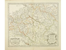 SANSON, N./ MARIETTE P. -  Konigreich Boheim. Royaume de Boheme..