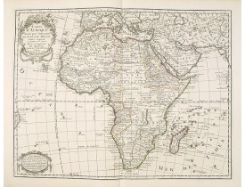 DELISLE, G . / BUACHE, Ph. / DEZAUCHE, J. -  Carte d'Afrique Dressée pour l'instruction par Guillaume DeLisle. . .