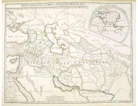 VAUGONDY, G. / DELAMARCHE, C. F./ DIEN, Ch. -  Partie Orientale de la Carte des Anciennes Monarchies. . .