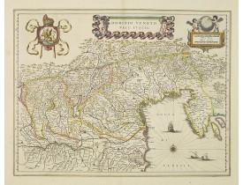 BLAEU, W. -  Dominio Veneto nell' Italia.
