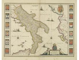 BLAEU, W. -  Regno di Napoli.