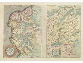 ORTELIUS, A. -  Caletensium et Bononiensium / Veromanduorum. . .