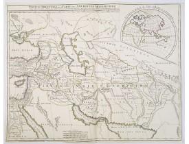 VAUGONDY, G. / DELAMARCHE, C. F. / DIEN, Ch. -  Partie Orientale de la Carte des Anciennes Monarchies. . .