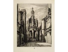 ROCHEBRUNE de, O. G. -  Lanterne du château de Chambord construite en 1533 par Pierre Nepveu dit Trinqueau.