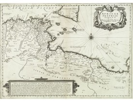 JANSSONIUS, J. -  Africae Propriae Tabula. In qua, Punica Regna Vides, Tyrios, et Agenoris Urbem.