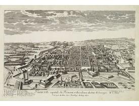 AVELINE, P. A. -  Turin ville capitale du Piémont, et Résidence du Duc de Savoye. . .