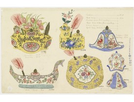FOURMAINTRAUX, G. -  Designs for Porcelainware.