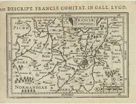 BERTIUS, P. / HONDIUS, J. -  Franciae Comitatus.