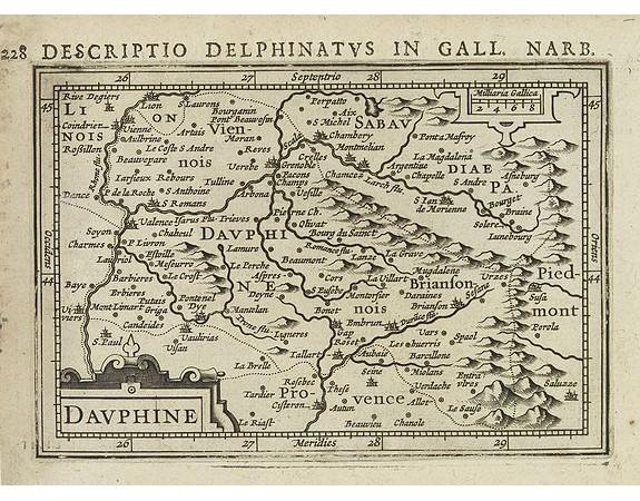 BERTIUS, P. / HONDIUS, J. -  Dauphiné.