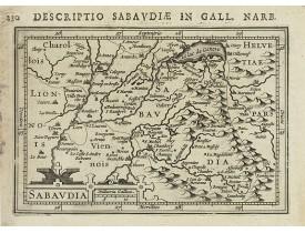 BERTIUS, P. / HONDIUS, J. -  Sabaudia.