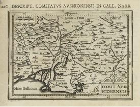 BERTIUS, P. / HONDIUS, J. -  Comit. Avenionensis.