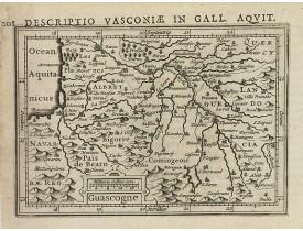BERTIUS, P. / HONDIUS, J. -  Guascogne.